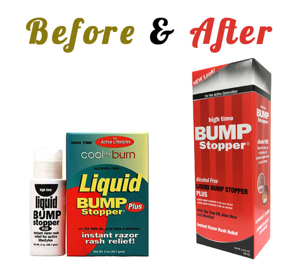 Liquid Bump Stopper: Old vs. New
