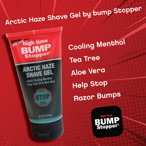 Bump Stopper Arctic Haze Shaving Gel