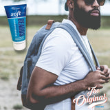 Soft On Beards Leave-in Conditioner, grooming aid & beard softener.