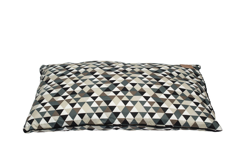 Futon Bed - Diamond Print - Mocca