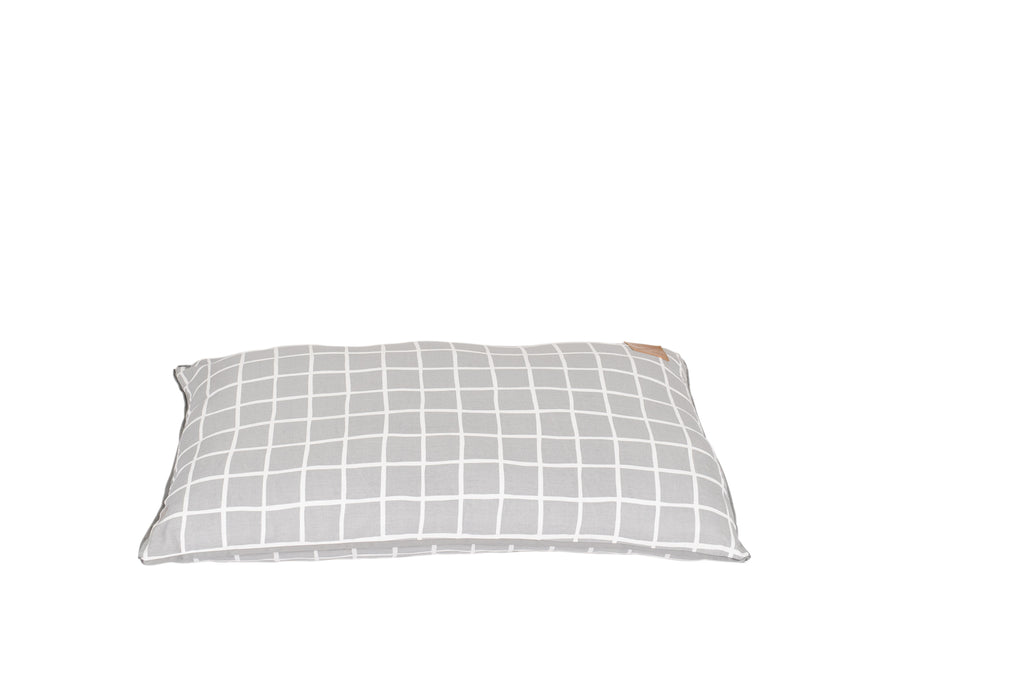 Futon - Grey Check Print