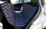 Car Seat Cover - Navy Check