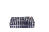 Classic Cushion Bed - Navy Check Print