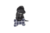 Printed Bone Soft Toy - Navy Check Print