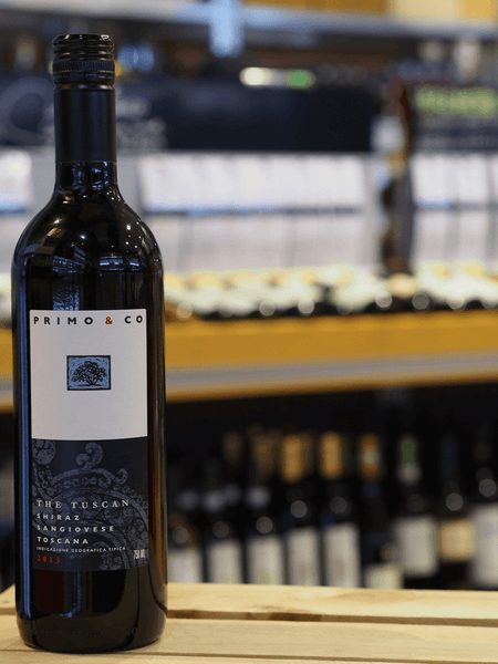 2013 PRIMO & CO 'THE TUSCAN' SHIRAZ SANGIOVESE