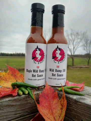 Maple Wild Ramp 150 Hot Sauce