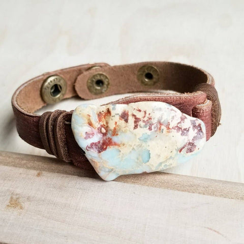 Aqua Terra Slab on Narrow Cuff Bracelet