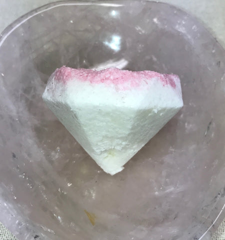 Rose Quartz Gem Essence Bath Bomb