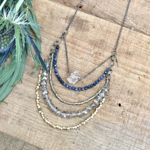 Five Layer Necklace