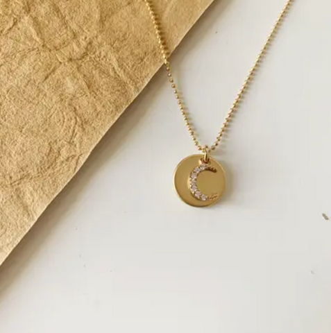 Moon Coin Necklace