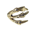 Claw Gold Plated Mid Ring