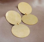 Disc Statement Earring