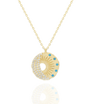 Ancient Coin 24K Gold Necklace