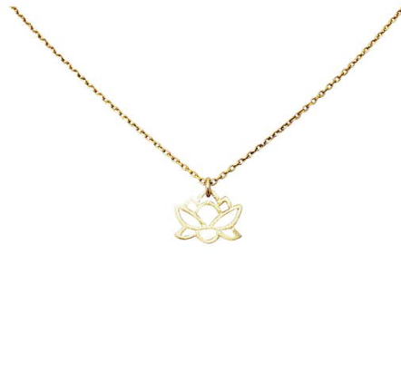 Baby Lotus Necklace
