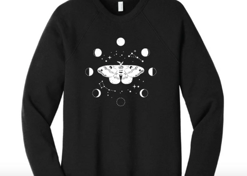 Moth and Moon Sweatshirt