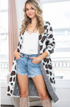 Leopard Long Sweater