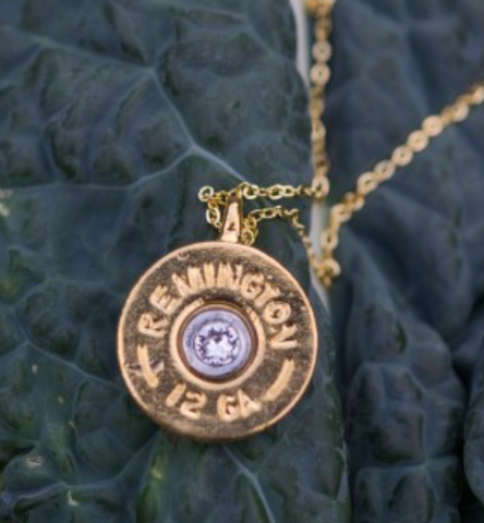 Oakley Shotgun Shell Crystal Pendant