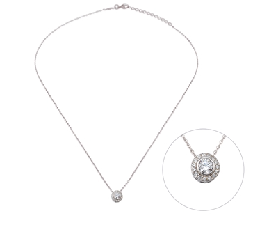 Entourage CZ 24K Necklace