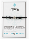 Stairway to Heaven Crystal Benedictine Bracelet