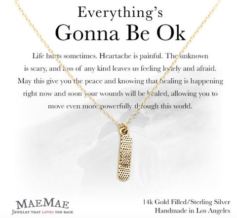 Everything's Gonna Be OK Necklace