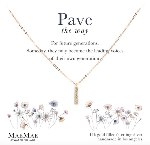 Pave The Way Necklace