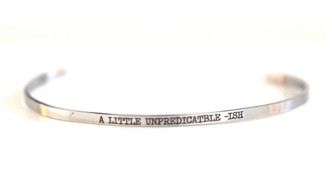 A Iittle Unpredictable-ish Bangle
