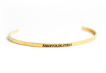 Absofuckinlutely Bangle Bracelet