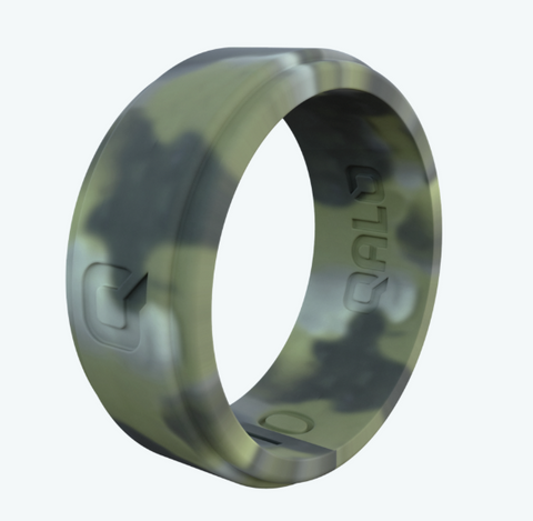 Camo Step Edge Q2X Silicone Ring