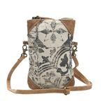 Multi Print Crossbody Bag