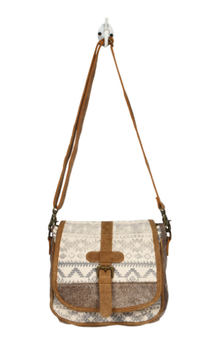 Flapover & Hairon Design Small & Cross Body Bag