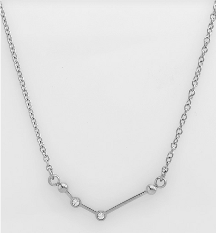 Constellations Silver Necklace