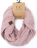 Infinity Scarf Cable Knit