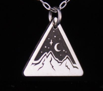 Star Light Silver Necklace