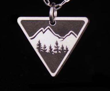 Explorer Silver Necklace