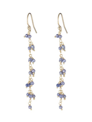 Greece Gemstone Cluster Earring