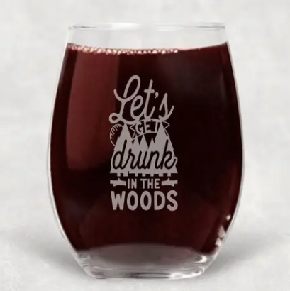 Snarky Wine Glasses