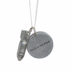 Love Is the Bomb Necklace