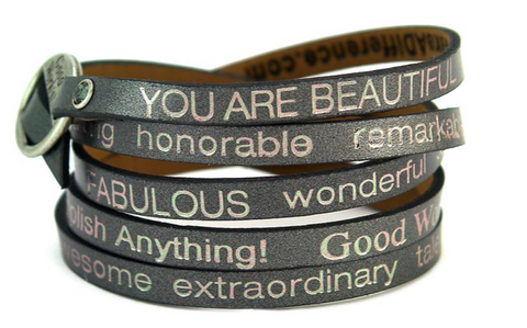 Wrap Around Inspirational Bracelet