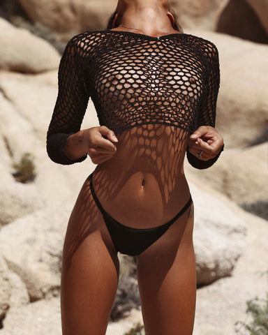 Gold Mesh Top PRE ORDER 3 WEEKS