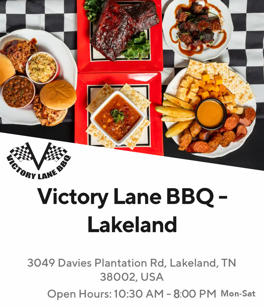 Victory Lane BBQ's Long Anticipated Grand Opening at Stonebridge Golf Course in Lakeland, TN!