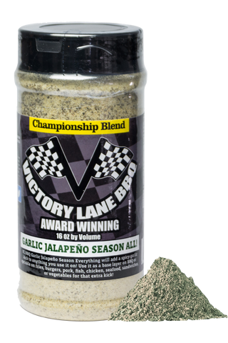 Victory Lane BBQ Garlic Jalapeño Season All Rub