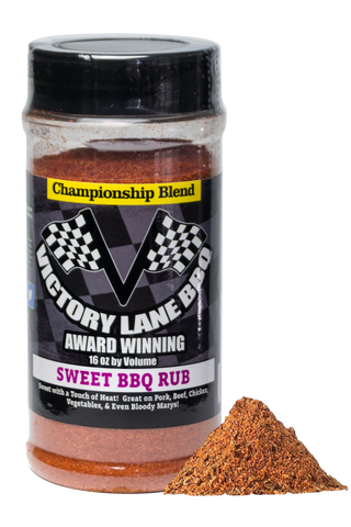 Victory Lane BBQ Sweet BBQ Rub