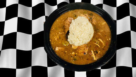 #001 Smoked Chicken Gumbo