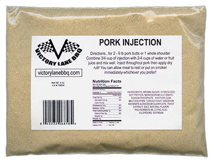4 oz.  Pork Injection