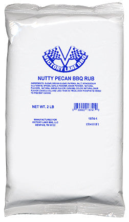 *Nutty Pecan BBQ Dry Rub 2 lb. Bag