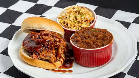 #061 Pulled Pork Sandwich Combo