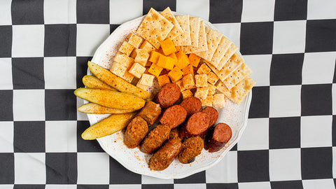 #022 Sausage & Cheese Plate