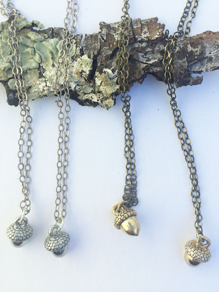 Nature Charm Necklaces