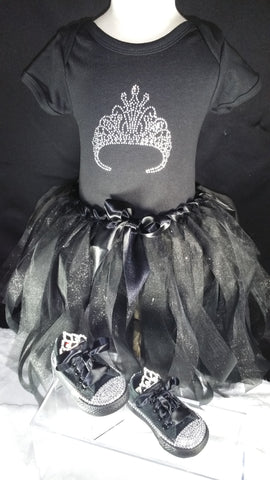 Black Tiara Bling Gift Set