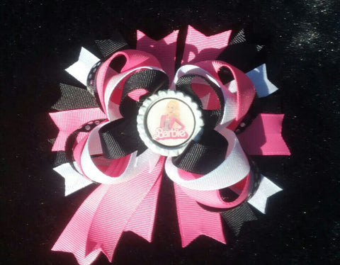 Barbie Bling Hair Bow w/Tail